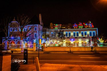 Chestnut st. Xmas Lights by SkeIator
