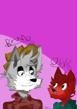 Bruno And Olivie by hollypelt10