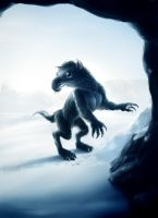 IceAge creature by X-Factorism