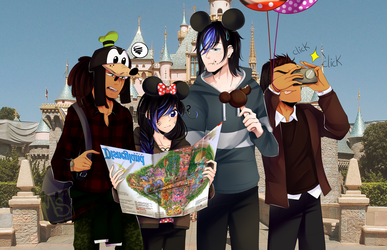 ~Disney land~ by MarshMellow-Cookies