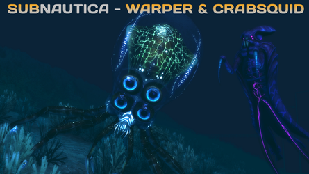 (SFM ONLY) Subnautica Warper and Crabsquid by A-Tortenesz
