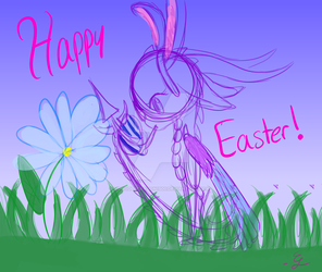 Happy Easter 2018 by doodledragon1500