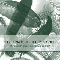 Ischarm Feather Brushes by ischarm-stock