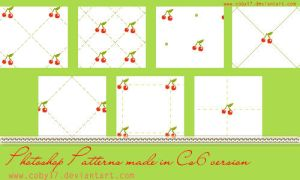 Cherries Photoshop Patterns by Coby17