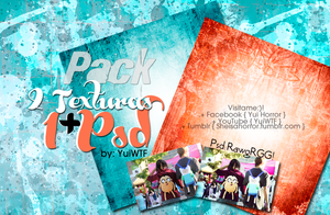 Pack {2 textutas+1psd} by YuiWTF