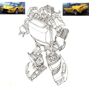 Revised Bumblebee: Movie C by Prowler974