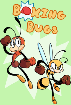 Boxing Bugs Chapter 1 - Cover by Dog22322