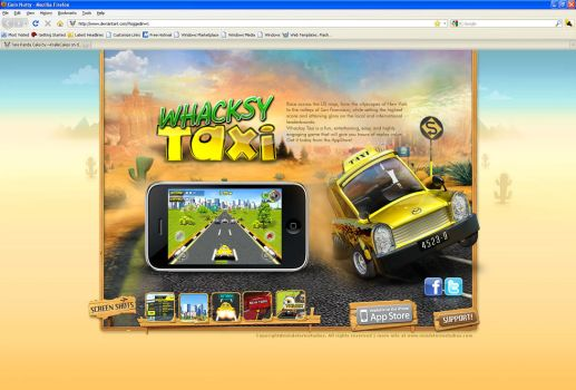 Whacksy Taxi Website by nasar-ullah-khan