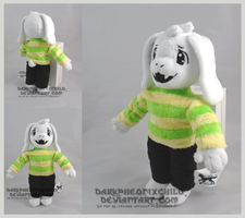 Undertale Asriel child by darkpheonixchild