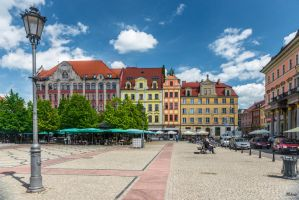 Wroclaw - houses by Rikitza