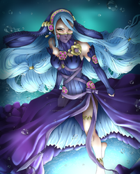 Lady of the lake by VIIFinalHeartsII