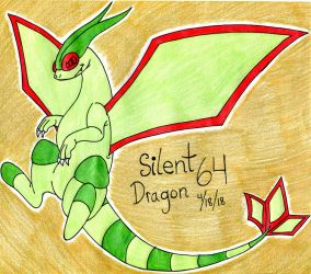 Pokemon- Flygon by SilentDragon64