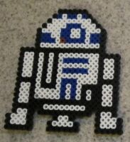 R2D2 fuse bead art by JasonYoungdale
