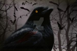 The Raven by LadyMichelle