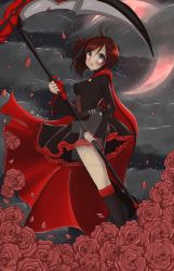 Midnight Rose, RWBY Fanart WITH VIDEO by HaruBlossom