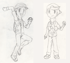 Curtis and Chad's New Designs by PKMNTrainerSpriterC