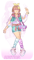 [ open auction! ] - colorful pastel girl by shiro-ritto