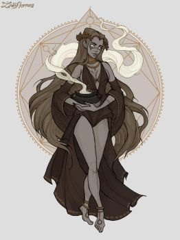 Virgo by IrenHorrors