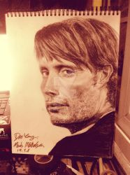 Mads Mikkelsen by FREE626