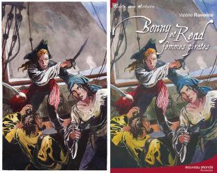 Bonny and Read Cover by VincentPompetti