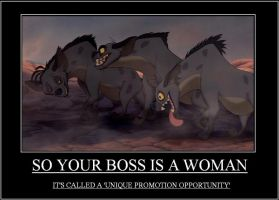 So Your Boss Is A Woman by Loanet