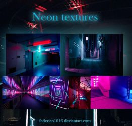 Neon textures by federico1016 by federico1016