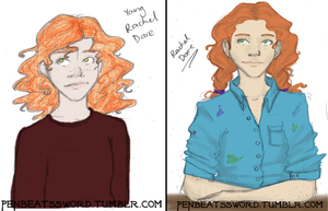 PJatO: Sketches of Rachels by IslandWriter