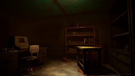 Fallout4 bunkerdesk by spacerogue