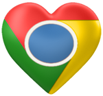 Valentine's Day Google Chrome Dock Icon by DamnMulletDesign