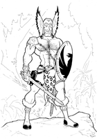 Travis Morgan, Warlord by BevisMusson