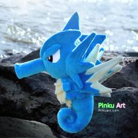 Seadra plush by PinkuArt