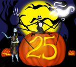 The Nightmare Before Christmas 25th Anniversary by ARTIST-SRF