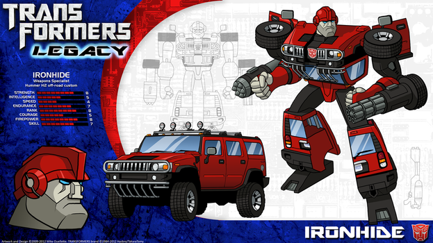 Transformers Legacy: Ironhide by CyRaptor