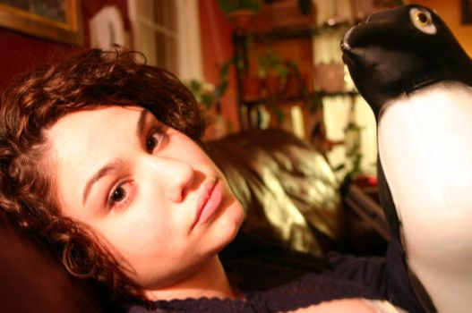 Love Affair with A Penguin by evilpixie21083