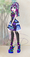 Ever After High OC: Eva witch by Kinga-of-Queens