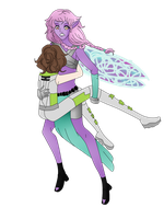 Collab:: Gabs And Nymph by Duchess-Pastel