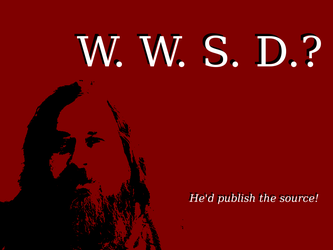 What Would Stallman Do? by isitolian
