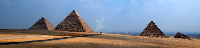 Giza Panorama by batusai316