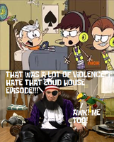 Patchy the Pirate Hates The Violent Loud House Epi by MikeJEddyNSGamer89