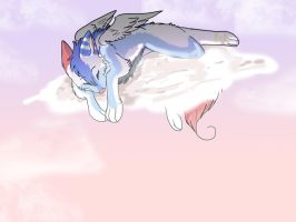 Sleeps in the Heavens by Spottedfire1212