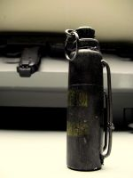 hand grenade by melliepivot