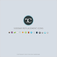Mac OS X Sidebar Icons by TaylorCarrigan