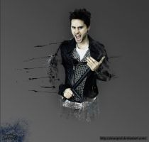 Jared Leto of 30STM by sinaxpod