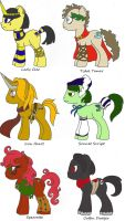MLP - Historical Ponies One by TeaLadyC8LIN