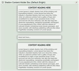 Shadow Content-holder box (Default Bright) by CypherVisor