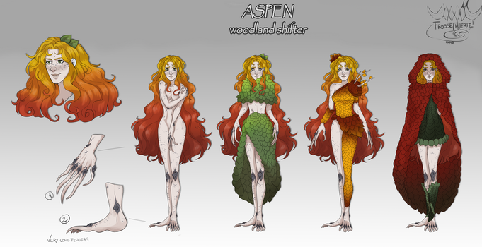 [Commission] Aspen Reference sheet by FrossetHjerte