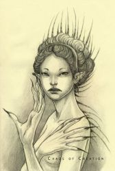 Lady Porcupine by TheChaosOfCreation