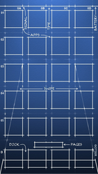 Blueprint iPhone 5 by Gotier