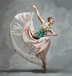 Miriam Miller (NYC Dance Project) - Study by Erynnia