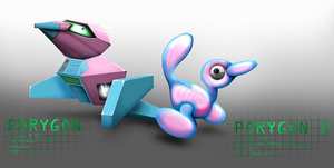 Porygon and Porygon2